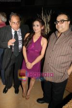 Pahlaj Nihalani with Divya Dutta  at the Music Launch of Khushboo - The fragrance of Love in Sahara Star on April 21st 2008 (33).JPG