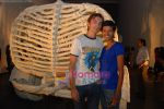 Tinu Verghese with her boy friend at Jitesh Kallat_s Aqusaurus exhibition on April 22nd 2008 (2).jpg
