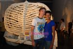 Tinu Verghese with her boy friend at Jitesh Kallat_s Aqusaurus exhibition on April 22nd 2008 (3).jpg