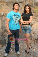 Sahil Khan and Tanushree Dutta on the sets of Movie Rama - The Saviour in Filmcity Studio, Goregaon, Mumbai on April 25th 2008 (13).jpg