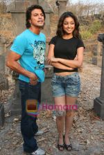 Sahil Khan and Tanushree Dutta on the sets of Movie Rama - The Saviour in Filmcity Studio, Goregaon, Mumbai on April 25th 2008 (17).jpg