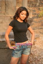 Tanushree Dutta on the sets of Movie Rama - The Saviour in Filmcity Studio, Goregaon, Mumbai on April 25th 2008 (13).jpg