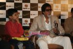 Amitabh Bachchan, Aman Siddiqui promotes Bhootnath game through Zapak in Taj Land_s End on April 27th 2008 (4).JPG
