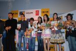 Anu Malik,Sameer, Jimmy Shergill, Rajpal Yadav, Nisha Rawal, Monishka at Hastey Hastey music launch in Milan Mall on April 26th 2008 (5).jpg