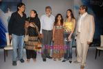 Nagesh Kukunoor, Shailendra Singh, Divya Khosla Kumar,Anahita Nair, Ajay Kapoor at the Launch of _Aashayein_ first look in Vie Lounge on April 29th 2008(5).JPG