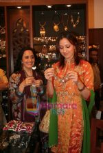 Ila Arun with daughter Ishita Arun at Amrapali store launch in Juhu on April 30th 2008(3).JPG
