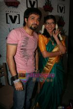 Emraan Hashmi, Lola Kutty at a promotional Channel V shoot on May 3rd 2008(3).JPG