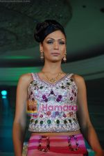 Model walks on the ramp for Tan Jewels fashion show in Taj Land_s End on May 3rd 2008(30).JPG