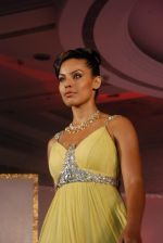 Model walks on the ramp for Tan Jewels fashion show in Taj Land_s End on May 3rd 2008(4).JPG