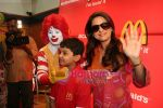Juhi Chawla, Aman Siddiqui at Bhootnath star cast at Mcdonalds in  Lower Parel,Mumbai on May 6th 2008(10).JPG