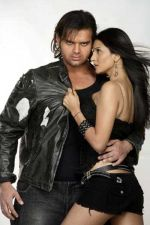 Mimoh Chakraborty and Pooja Singh in a still from the movie Jimmy (1).jpg
