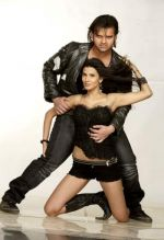 Mimoh Chakraborty and Pooja Singh in a still from the movie Jimmy (2).jpg
