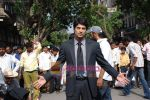 Rajeev Khandelwal at Promotional music video Mehfooz for film Aamir in  Flora Fountain on May 9th 2008(38).JPG