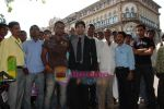 Rajeev Khandelwal at Promotional music video Mehfooz for film Aamir in  Flora Fountain on May 9th 2008(27).JPG