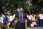 Rajeev Khandelwal at Promotional music video Mehfooz for film Aamir in  Flora Fountain on May 9th 2008(37).JPG