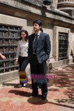 Rajeev Khandelwal at Promotional music video Mehfooz for film Aamir in  Flora Fountain on May 9th 2008(7).JPG