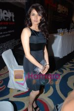 Bhagyashree at the Launch of Red Alert - The War Within in ITC Grand Maratha on May 12th 2008(2).JPG