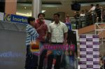 Aman Siddique and Vivek Sharma of Bhoothnath fame interact with fans at Inorbit Mall in Fame Malad on May 15th 2008(1).JPG