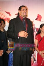 The Great Khali at the film Khusti bash in Sun N Sand on May 16th 2008(15).JPG