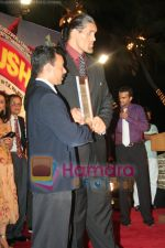 The Great Khali at the film Khusti bash in Sun N Sand on May 16th 2008(3).JPG