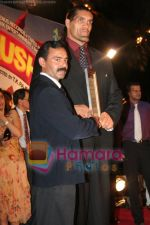 The Great Khali at the film Khusti bash in Sun N Sand on May 16th 2008(4).JPG