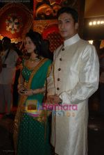 Anjali Abrol, Kapil Nirmal at Star Pariwar Awards on May 17th 2008(2).jpg