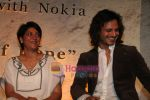 Vivek Oberoi, Priya Dutt at the Unveiling Of The _Tiger Wall Of Hope_ By WWF & Nokia in J W Marriott mall on May 18th 2008(3).JPG