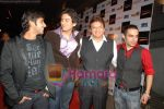 Sameer Dattani, Shaad Randhawa, Shashi Ranjan at Dhoom Dhadaka premiere in Cinemax on May 22nd 2008(2).JPG