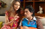 Aarti Chhabria and Shaad Randhawa in a still from the movie Dhoom Dhadaka.jpg
