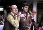 Anupam Kher and Sameer Dattani in a still from the movie Dhoom Dhadaka.jpg