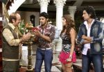 Anupam Kher, Sameer Dattani, Aarti Chhabria and Shaad Randhawa in a still from the movie Dhoom Dhadaka.jpg
