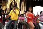 Shaad Randhawa and Aarti Chhabria in a still from the movie Dhoom Dhadaka (2).jpg