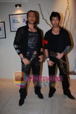 Nakuul Mehta, Adhyayan Suman at Haal E Dill song picturisation in Filmistan on May 25th 2008(1).JPG