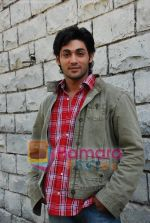 Ruslaan Mumtaz On Location of Mastang Mama in Filmcity on May 26th 2008(12).JPG