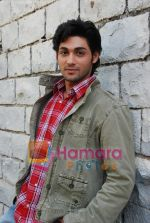 Ruslaan Mumtaz On Location of Mastang Mama in Filmcity on May 26th 2008(10).JPG