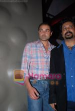 Bobby Deol, Sandeep Chowta at Columbia Records launch in Blue Frog on June 2nd 2008(2).JPG
