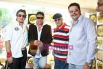 Mashhoor Amrohi, Jackie Shroff,Prem Chopra, Ajit Khan at the Radio One event with stars of Hum Sey Hai Jahaan in Hokey Pokey on June 3rd 2008(2).jpg