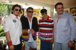 Mashhoor Amrohi, Jackie Shroff,Prem Chopra, Ajit Khan at the Radio One event with stars of Hum Sey Hai Jahaan in Hokey Pokey on June 3rd 2008(3).jpg
