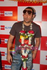 Akshaye Khanna on the sets of Big Fm 92.7 in Big Fm, Andheri on June 6th 2008(10).JPG