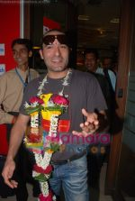 Akshaye Khanna on the sets of Big Fm 92.7 in Big Fm, Andheri on June 6th 2008(14).JPG