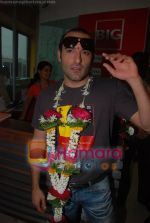 Akshaye Khanna on the sets of Big Fm 92.7 in Big Fm, Andheri on June 6th 2008(16).JPG