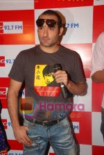Akshaye Khanna on the sets of Big Fm 92.7 in Big Fm, Andheri on June 6th 2008(6).JPG
