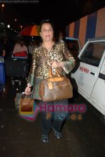 Mumtaz spotted at Mumbai Airport on 9th June 2008(5).JPG