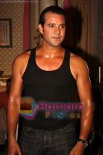 Moammar Rana On location of Film Ek Second Jo Zindagi Badal De in Filmcity on 10th June 2008(3).JPG