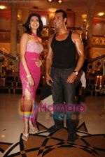 Moammar Rana, Nikita Anand On location of Film Ek Second Jo Zindagi Badal De in Filmcity on 10th June 2008(2).JPG