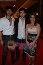 Adhyayan Suman, Nakuul Mehta, Amita Pathak at Mera Baap Pehle Aap premiere in PVR, Goregaon on 13th June 2008(4).JPG