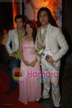 Nakuul Mehta, Amita Pathak, Adhyayan Suman at the premiere of Haal E Dil in Cinemax on 19th June 2008(3).JPG