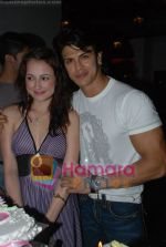 Linda  Arsenio, Sahil Khan at Kabul Express fame Linda Arsenio birthday bash in Masala  Mantra on 20th June 2008(15).JPG