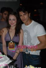 Linda  Arsenio, Sahil Khan at Kabul Express fame Linda Arsenio birthday bash in Masala  Mantra on 20th June 2008(2).JPG