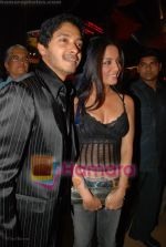 Shreyas Talpade, Celina Jailtley at the premiere of Sanai Chaughde in PVR on 20th June 2008(4).JPG